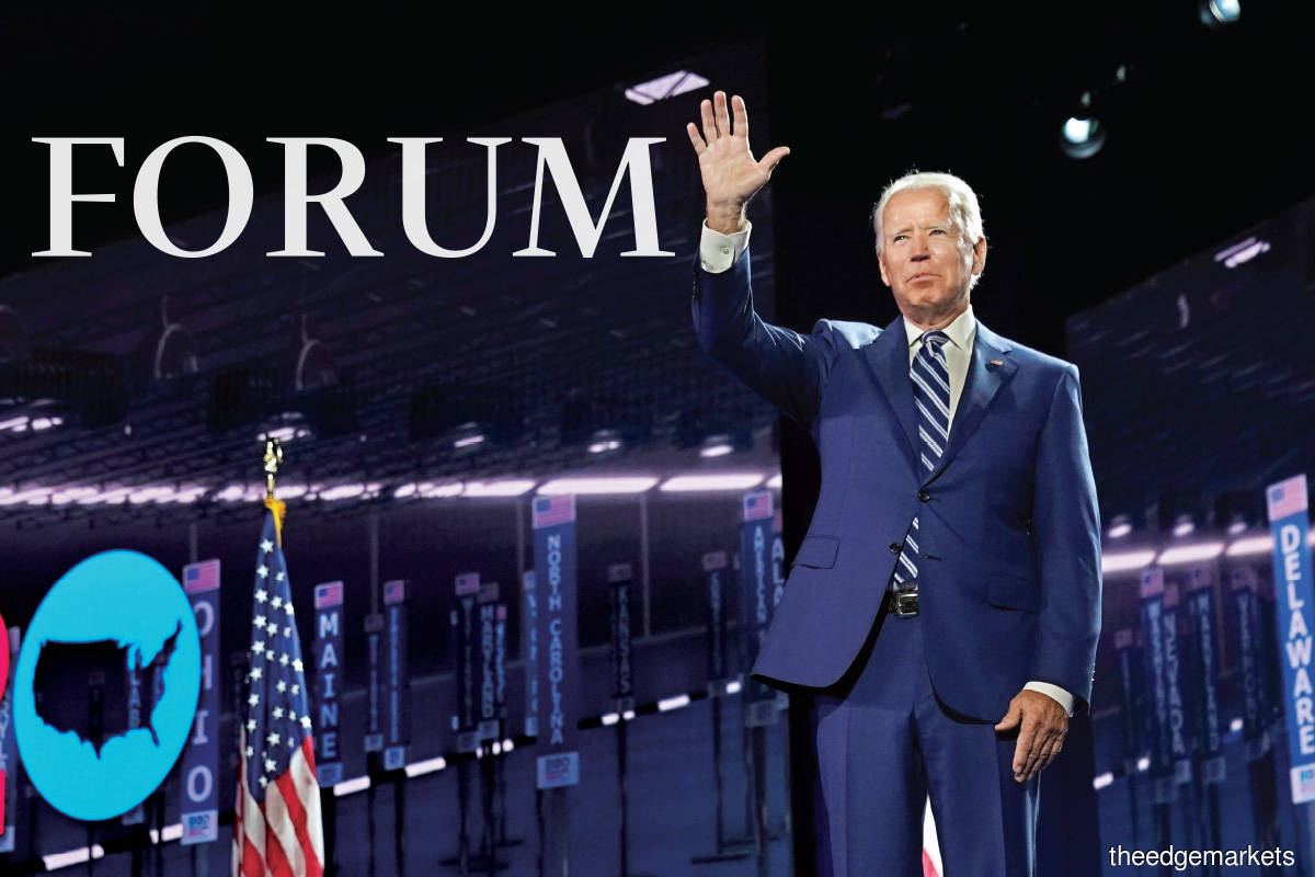 Biden has committed himself to the most progressive Democratic election manifesto since 1972, and there is a growing feeling that a ground-breaking change is in the offing in the US