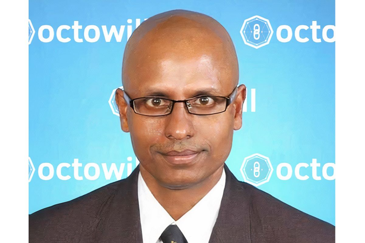 Octowill founder and CEO Selvarajah Ramasamy