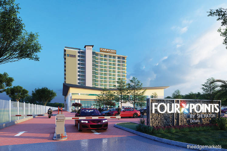 SKS Group to introduce  Four Points by Sheraton  brand in Desaru