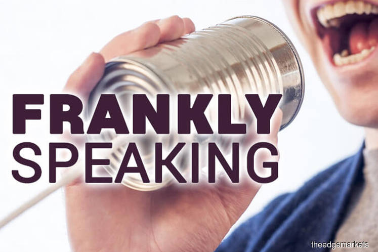 Frankly Speaking: Sign of the times