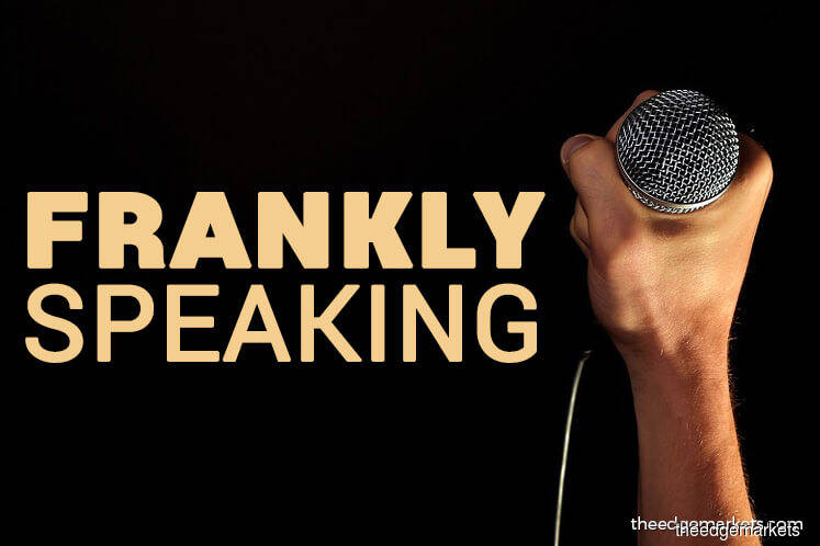 Frankly Speaking: A strange offer