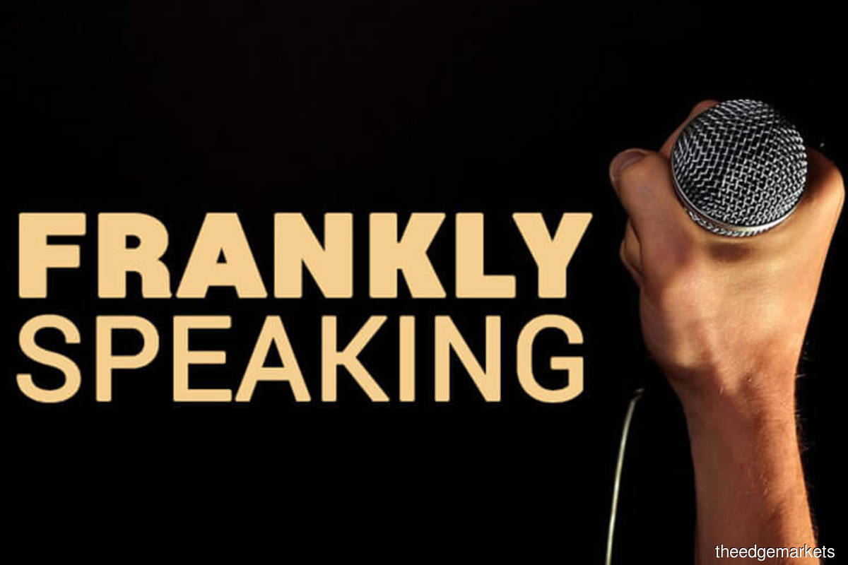 Frankly Speaking: CFO's vague reason to leave