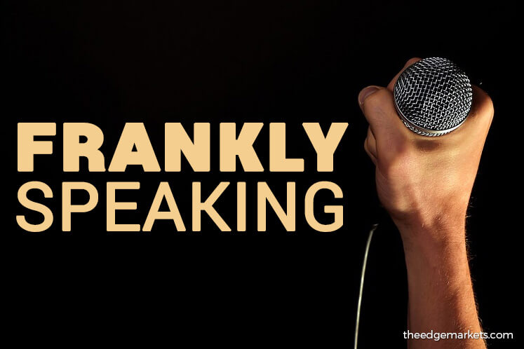 Frankly Speaking: A disclosure that should have come earlier