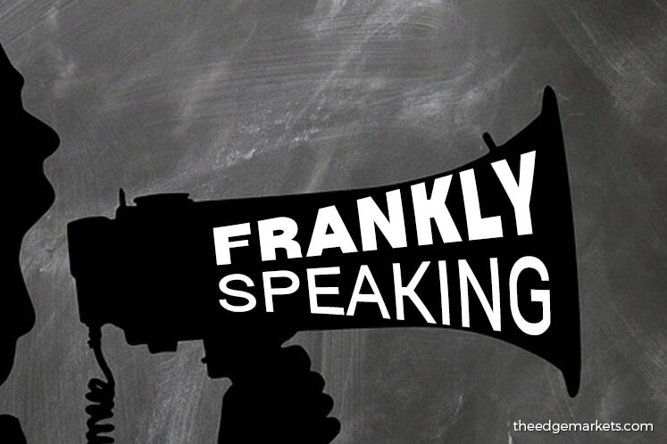 Frankly Speaking: Walk the talk