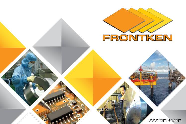 Frontken active, up 3.14% on positive technicals