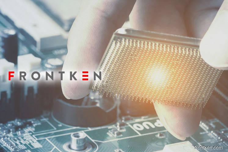 Frontken rises 3.8% on favourable outlook