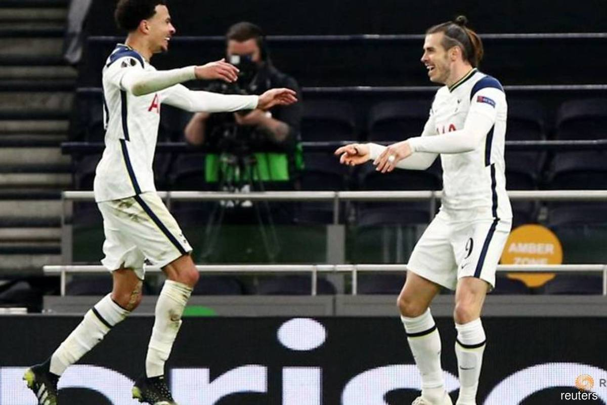 Alli and Bale impress in Spurs rout of Wolfsberg