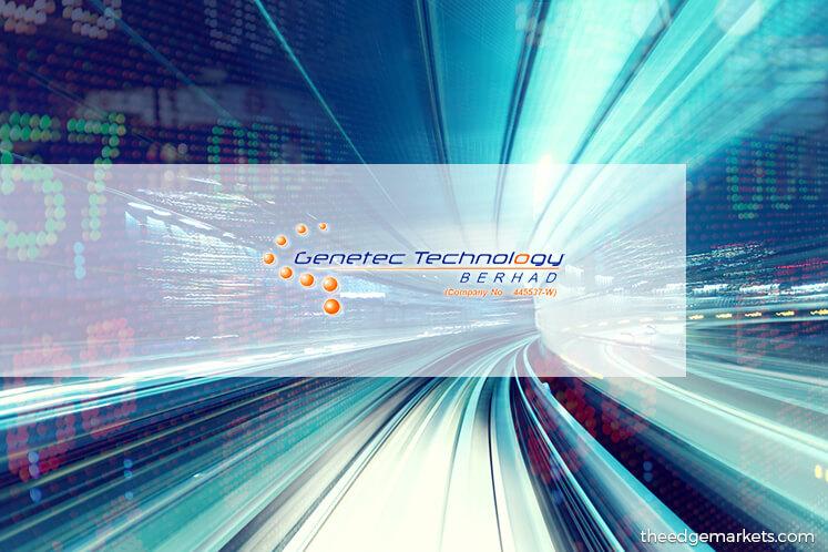 Stock With Momentum: Genetec Technology