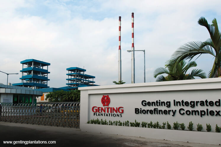 Genting Plantations falls 2.25% to lowest in 18 weeks