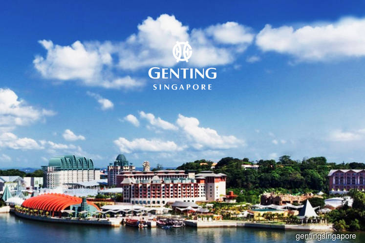 Genting Singapore jumps 4% exceeding gains in Straits Times