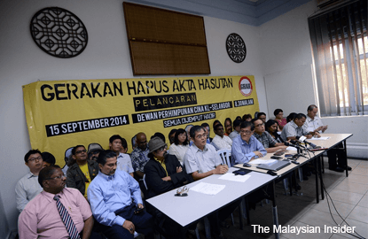 After Azmi Sharom, civil society group wants A-G to drop all sedition charges