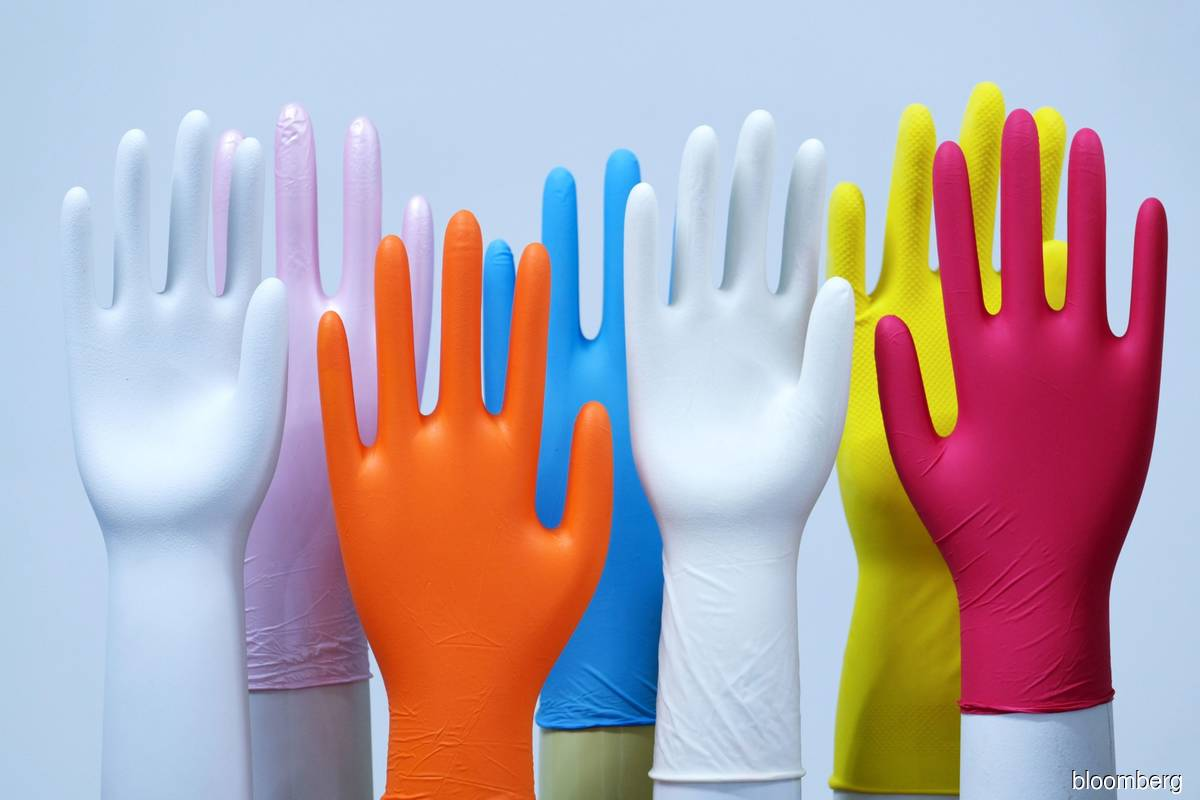 Rubber glove counters back in vogue, among top gainers in morning trade