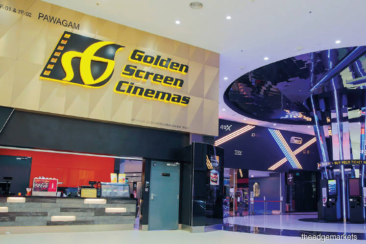 GSC, which saw zero revenue during the MCO, may return to the black only in 4Q2020, as cinemas are expected to operate at 40% to 50% capacity when they are allowed to reopen from July 1. (Photo by Golden Screen Cinemas)