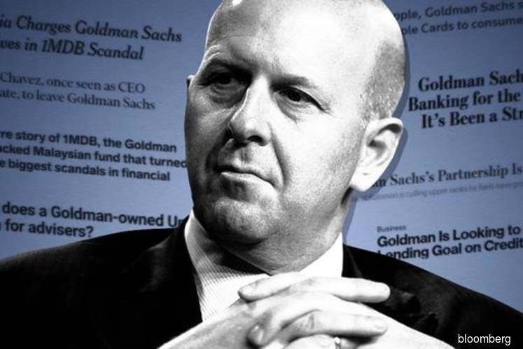 Goldman Sachs' year of frantic upheaval and same old problems
