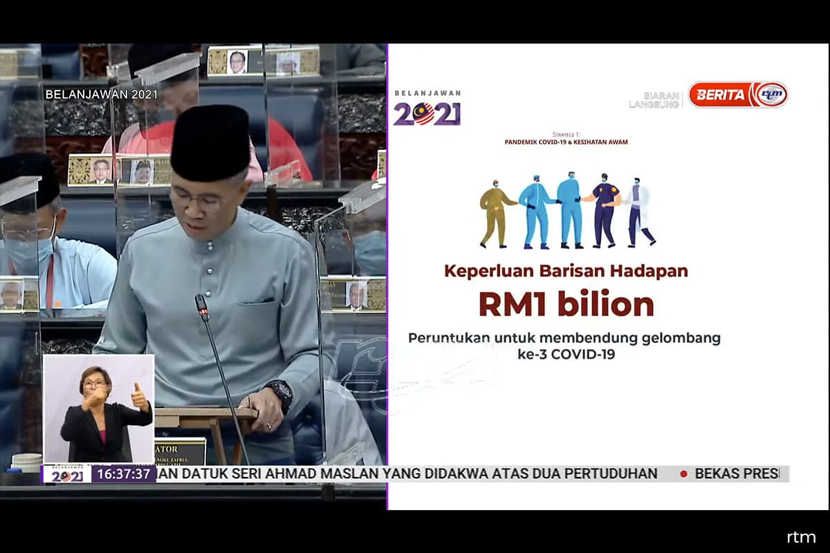 Govt allocates an additional RM1 billion to curb the third wave of Covid-19