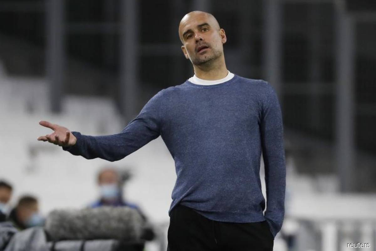 Man City cannot rely on Santa for goals, says Guardiola