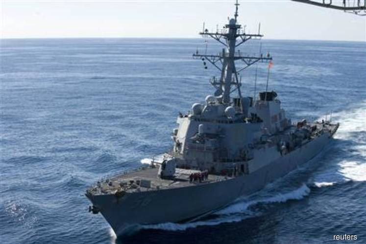 One navy officer dead, four injured in accident involving destroyer docked at port