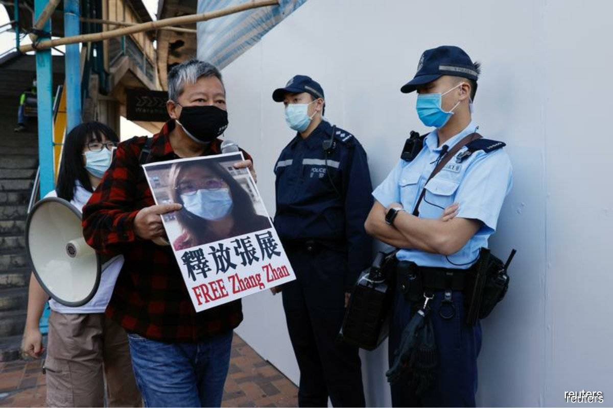 China trial of 'Hong Kong 12' begins as U.S. decries 'tyranny'