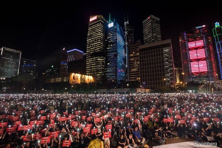 Weekend Hong Kong protests expected after U.S. hearing