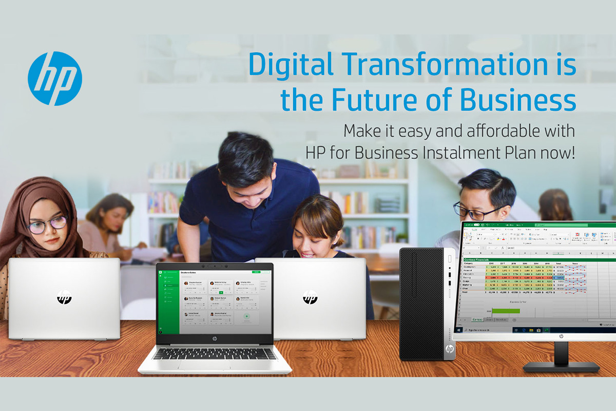 HP Inc Malaysia Offers Business Installment Plans to Help Your Business' Digital Transformation