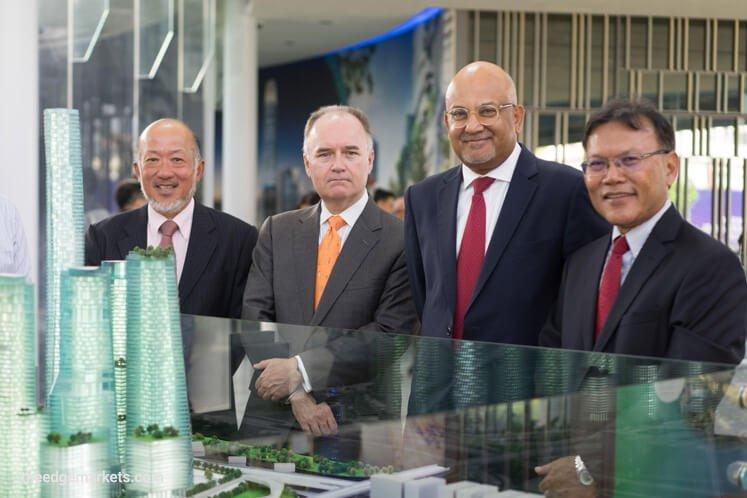 汇丰银行斥2.5亿美元在TRX兴建总部