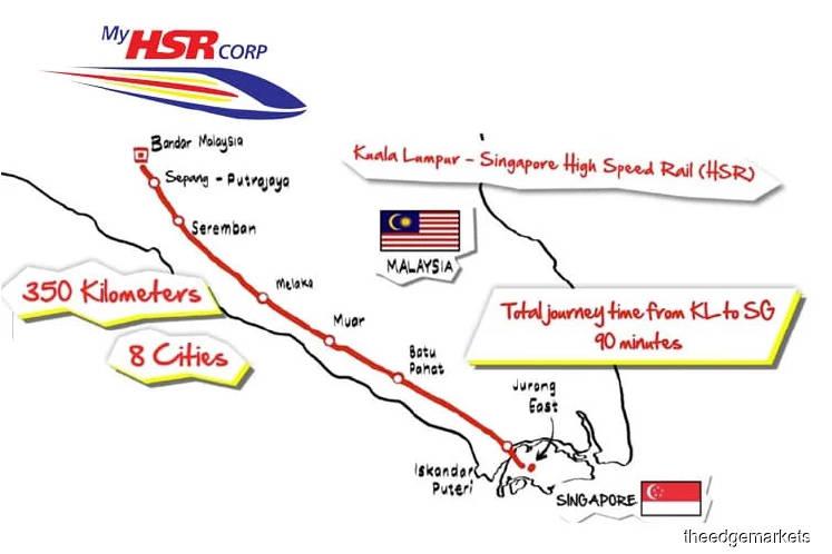 Newsbreak: KL-Singapore HSR may cost as much as RM68 bil
