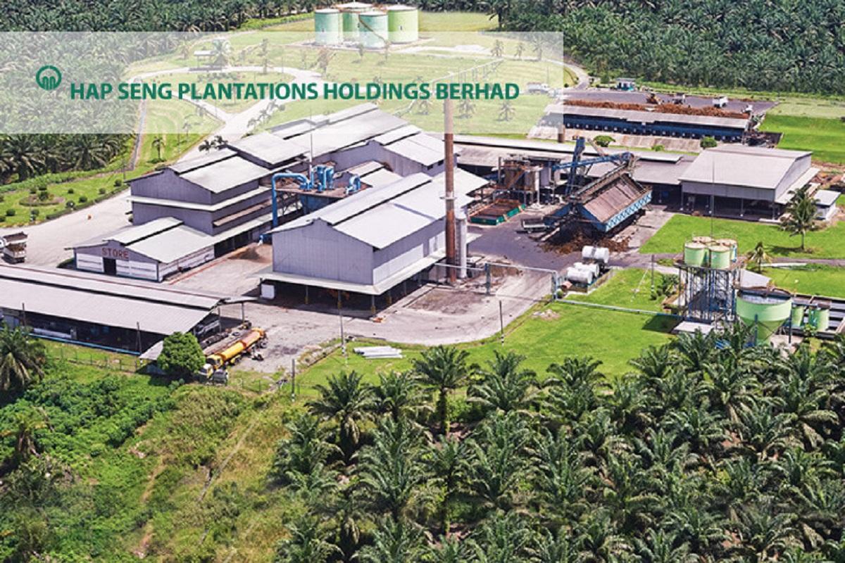 Hap Seng Plantations' 4Q net profit rises on higher commodity prices