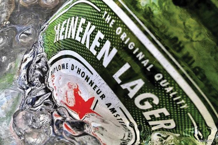 Heineken up 2.71% as 4Q earnings hit RM100m mark