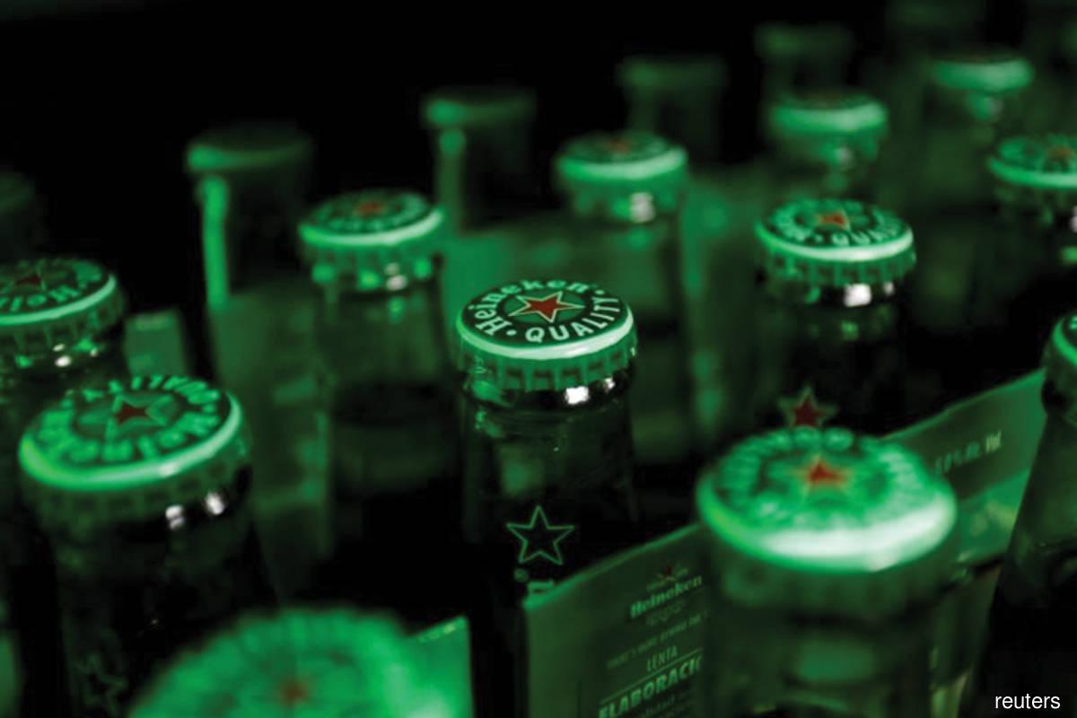 Carlsberg, Heineken among top gainers on Bursa