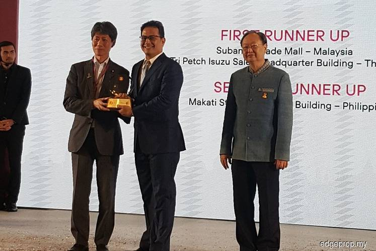 Hektar REIT bags Asean energy efficient building award for Subang Parade