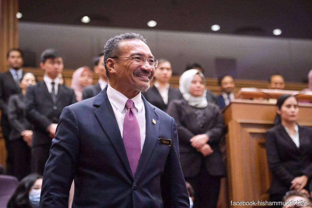 Malaysia's Foreign Minister Datuk Seri Hishammuddin Tun Hussein