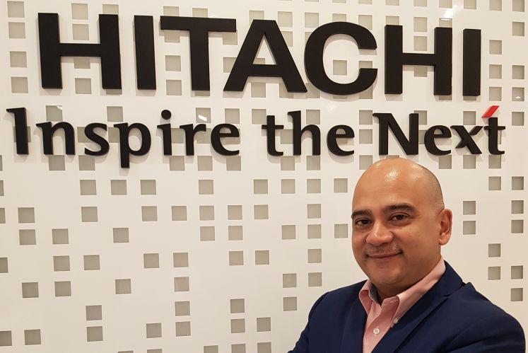 Hitachi Vantara Sdn Bhd managing director, Moti Uttam