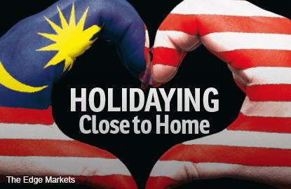 Holidaying Close to Home