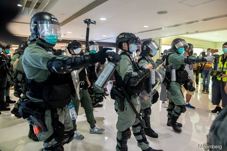 China lawmakers review draft of Hong Kong national security bill — Xinhua