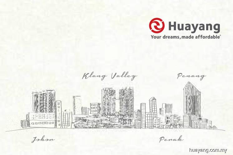 Hua Yang seen to derive sales from Penang, Johor and Klang Valley