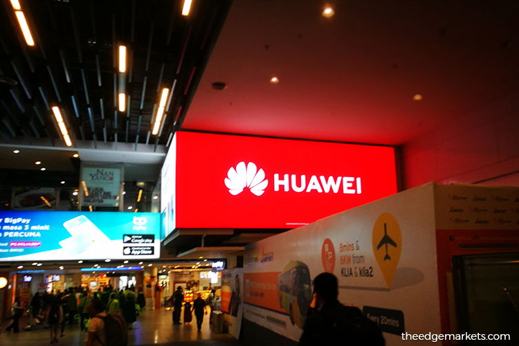 Huawei holds on to No 2 smartphone spot in first quarter