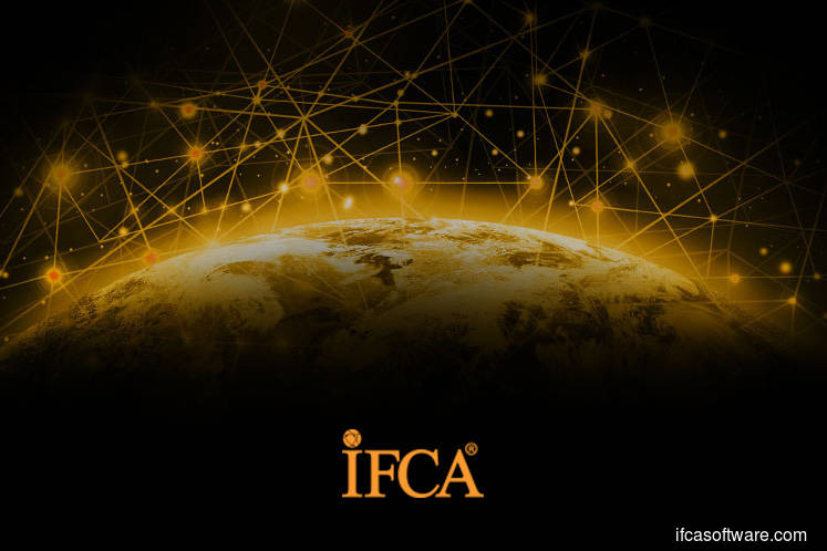 IFCA jumps over 18% after announcing MoU with Huawei