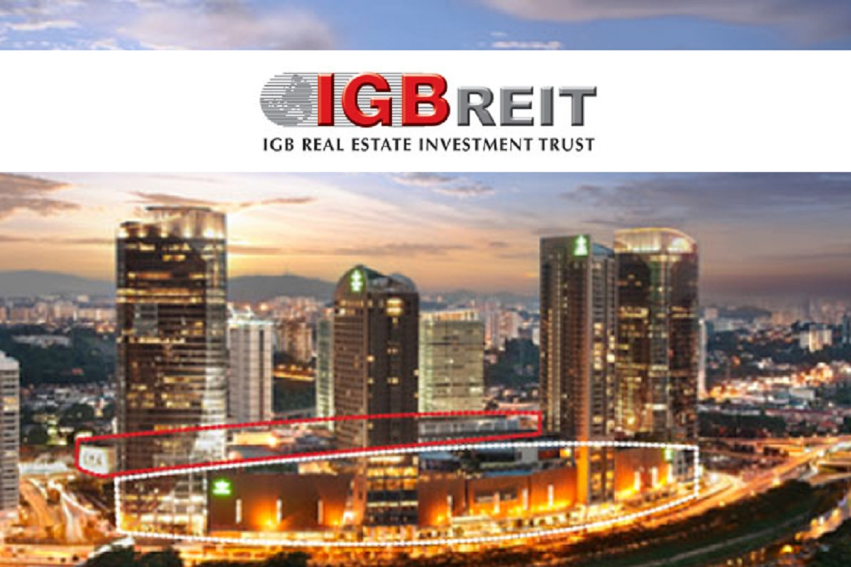 IGB REIT sees slight drop in 4Q property income, proposes 2.08 sen distribution
