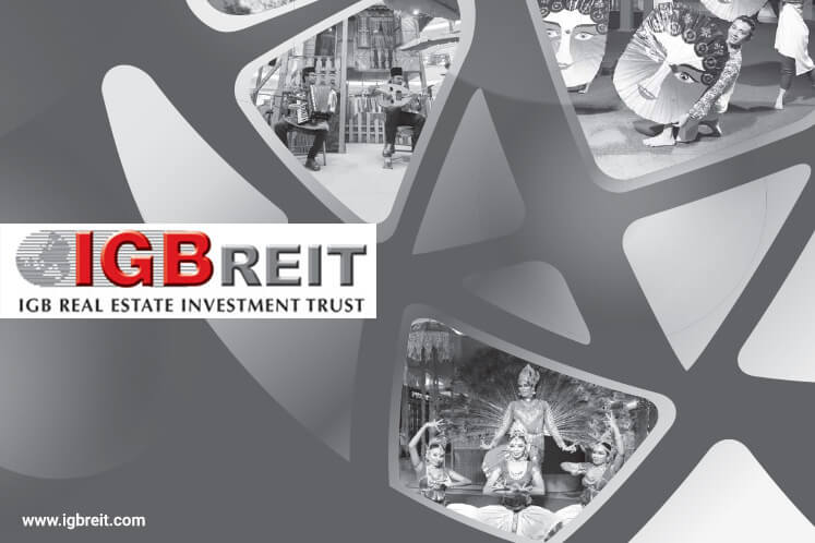 Highest return on equity over three years: REIT: IGB REIT - Continues to build on solid foundations