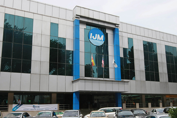 Lower FY19 order book replenishment expected for IJM Corp