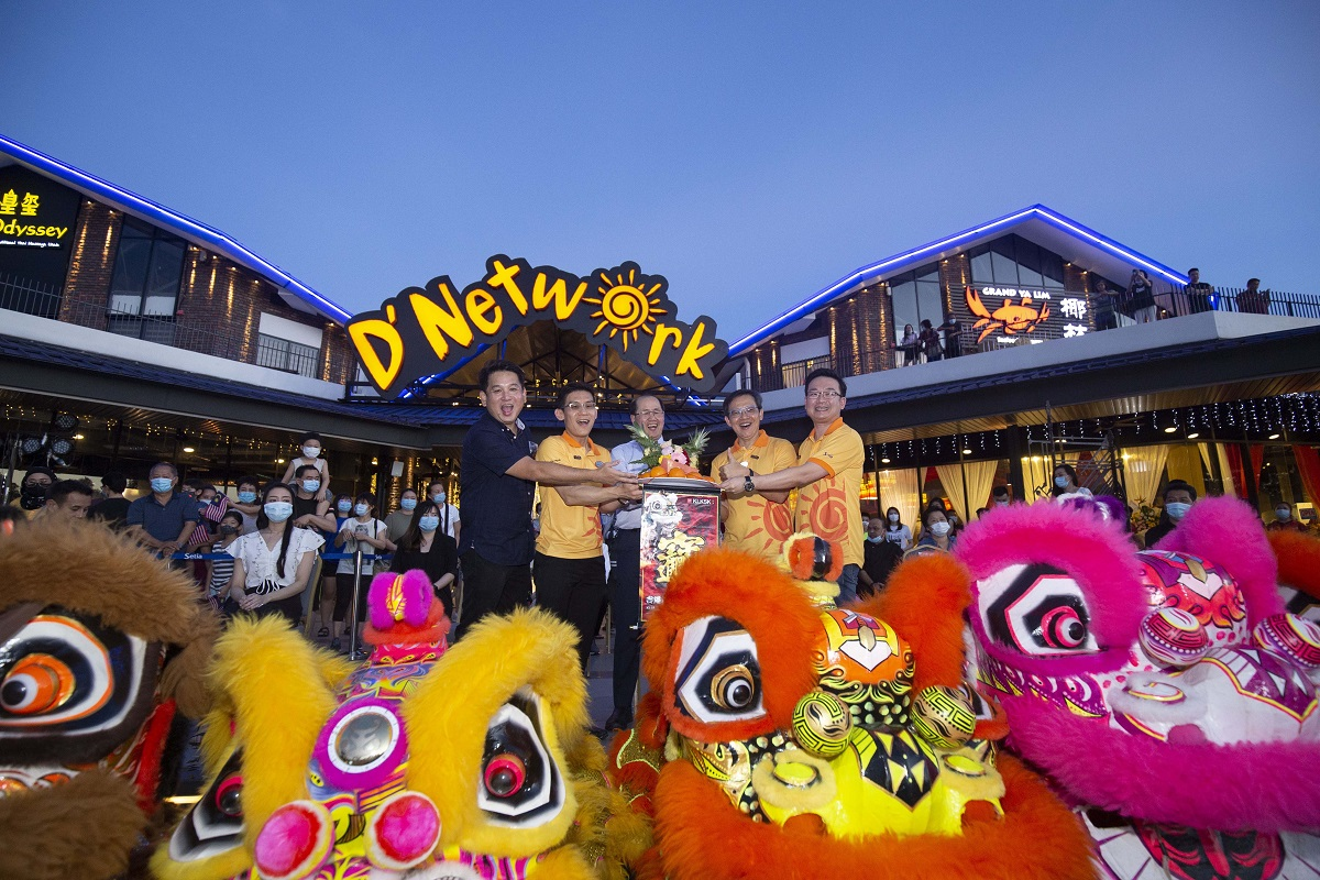 D'Network was officially launched by the senior management team of S P Setia, (from left) executive vice president Stanley Saw, general manager of Setia Eco Park Desmond Ong, president and chief executive officer Datuk Khor Chap Jen, senior executive vice president Datuk Koe Peng Kang, and divisional general manager Goh Tzen Sernz.
