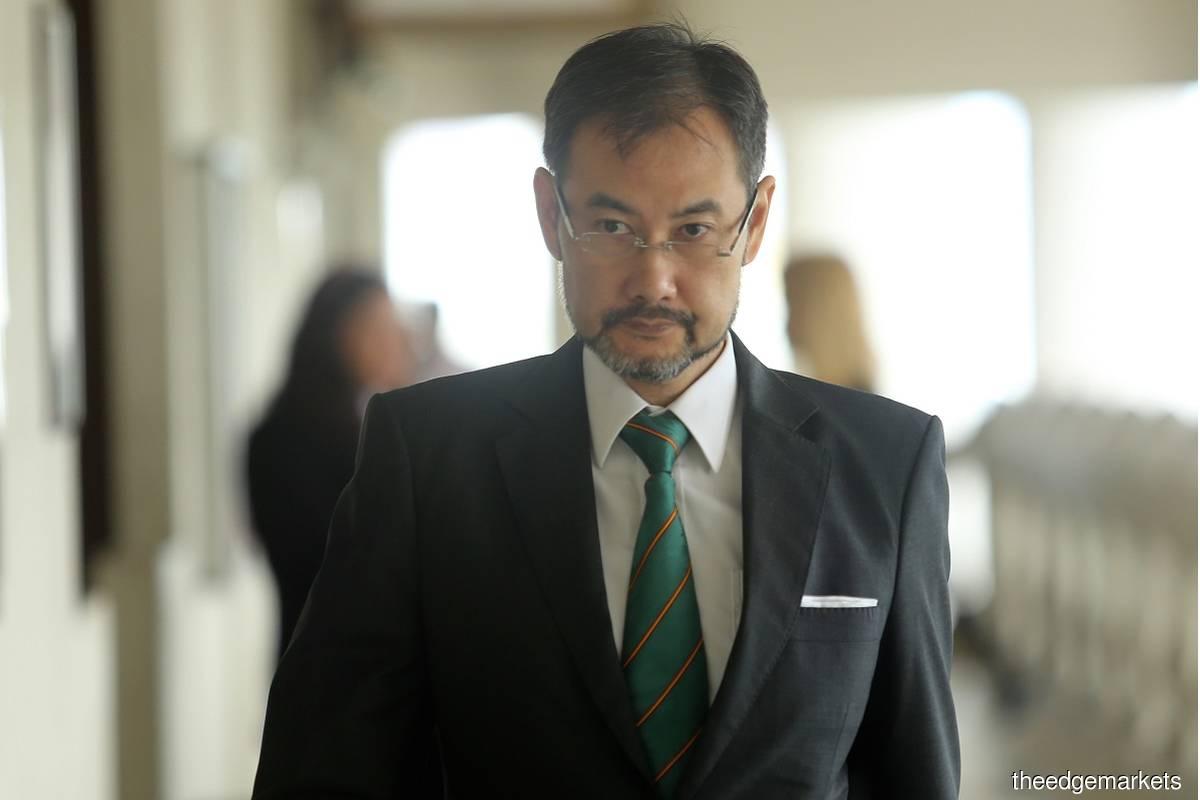 Former 1MDB CEO Datuk Shahrol Azral Ibrahim Halmi (Photo by Mohd Suhaimi Mohamed Yusuf/The Edge)
