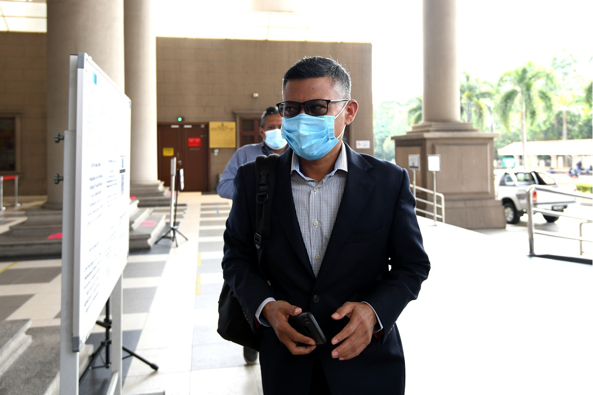 Hazem: In the eyes of 1MDB, Jho Low did not exist. (Photo by Shahrin Yahya/The Edge)