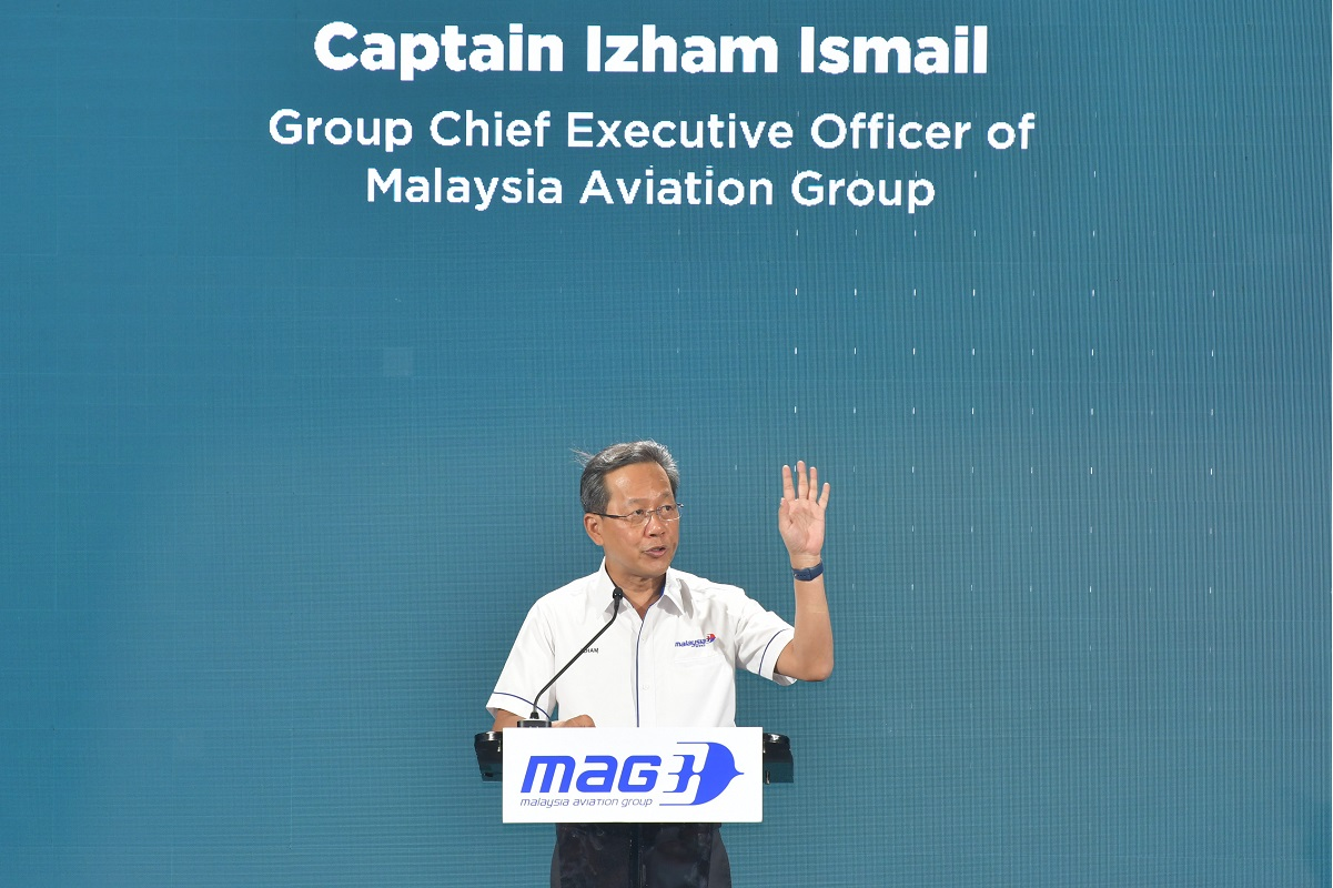 MAG group CEO Captain Izham Ismail (Photo by Mohd Suhaimi Mohamed Yusuf/The Edge)