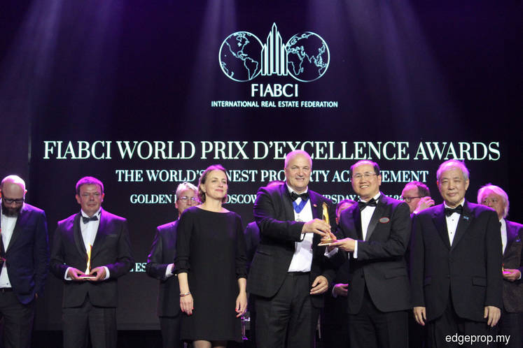 S P Setia records 11th Gold win at FIABCI Prix d'Excellence Awards 2019