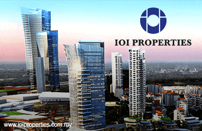 IOI Properties rights issue weighs on shares