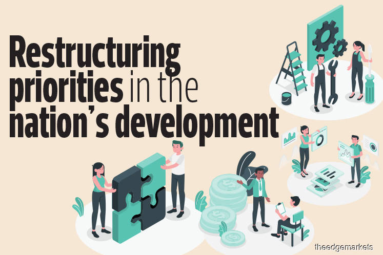 Restructuring priorities in the nation's development