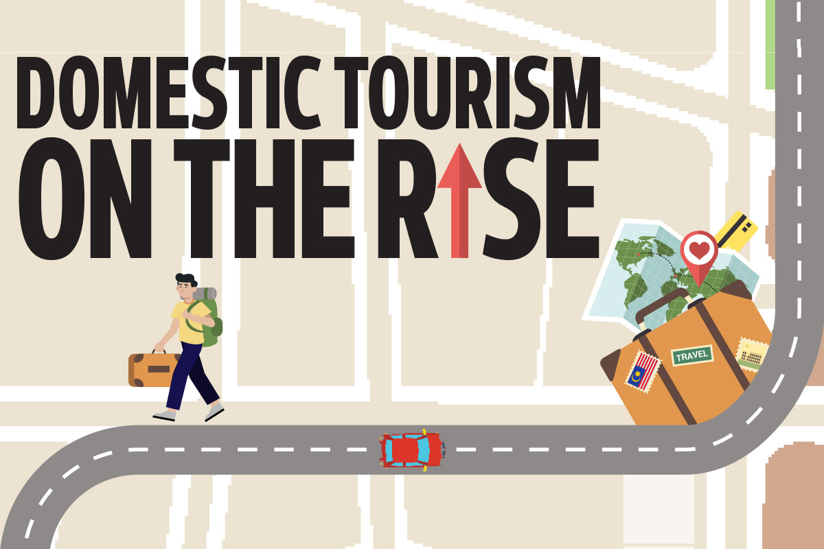 Domestic tourism on the rise