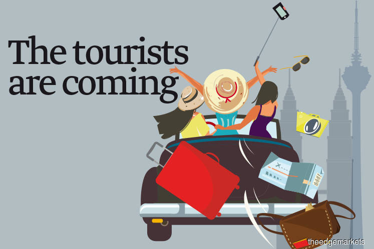 The tourists are coming