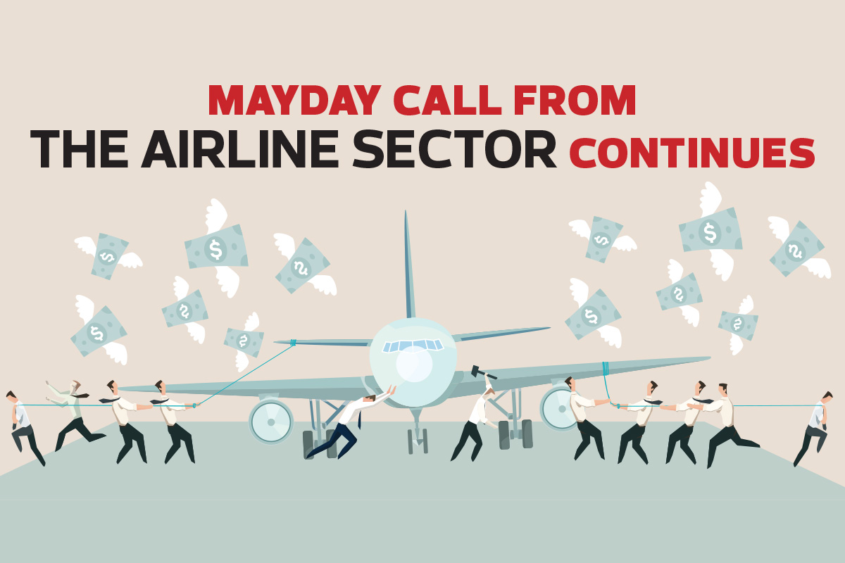 Mayday call from the airline sector continues